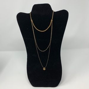 Charisma Adjustable Gold Layered Necklace
